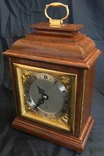 ELLIOTT LONDON Mahogany Bracket Mantel Clock GARRARD 112 REGENT ST LONDON