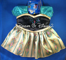 NEW Build-A-Bear ANNA FROZEN FEVER CORONATION DRESS DISNEY Teddy Clothes Outfit