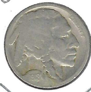 1918 Philadelphia Circulated Nickel Five Cent Coin!