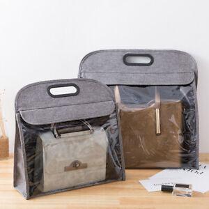 1Pc/2Pcs Purse Dust Cover Storage Bag Protector Hanging Pouch Closet Organizer
