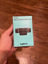 New Logitech C922X Pro Stream Webcam - Black *ship The Same Day *