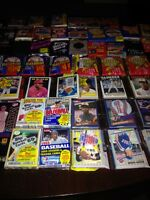 Awesome Lot 600 Unopened Old Vintage Multi Sport Cards in Wax Cello Rack Packs