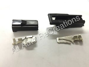 1 Way Connector Kit Male & Female Pin Terminals Holden Monaro GTS HQ HJ HX HZ WB