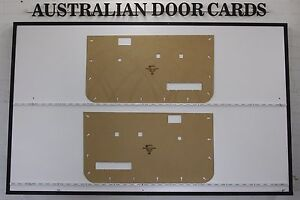 Ford Courier PC, PD 1990-1998 Front Door Cards / Trim Panels Toppers