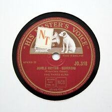 "THE THREE SUNS ""Jungle Rhythm - Guaracho"" (E+) HMV JO-318  [78 RPM]"