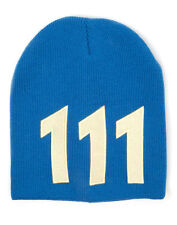 OFFICIAL FALLOUT 4 VAULT 111 YELLOW AND BLUE BEANIE HAT (BRAND NEW)