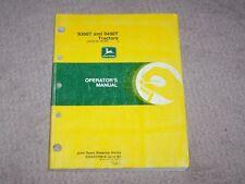 John Deere Used 9300T & 9400T Tractor Serial # 90257 & Up Operators Manual B5