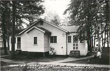 A View Of Cabin # 4, Madden Lodge, Gull Lake, Brainerd, Minnesota MN RPPC