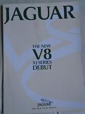 Jaguar XJ V8 brochure c2001 Japanese text