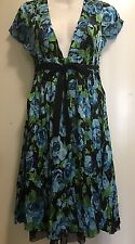 free people Floral dress Size  8 (M)