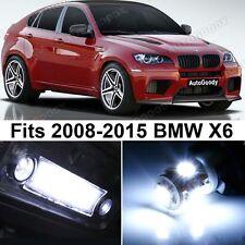 21 x Premium Xenon White LED Lights Interior Package Upgrade for BMW X6