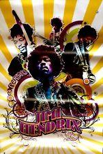 Jimi Hendrix Yellow Scorpio Poster