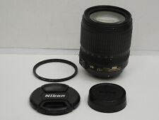 Nikon DX AF-S Nikkor 18-105mm f/3.5-5.6 G ED VR Lens clean & working + UV filter