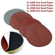 20pz Grit 1000 1500 2000 3000 Lucidatura Carta Vetrata abrasivo Disco Sandpaper