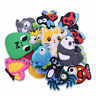 Gibleitz 20pcs Animals Shoe Charms for Wristband Ornaments Child Boy Gifts