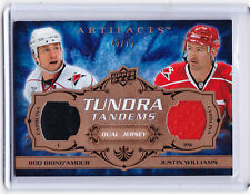 2008/09 Artifacts ROD BRIND'AMOUR & JUSTON WILLIAMS Tundra Tandems Jersey 40/75!