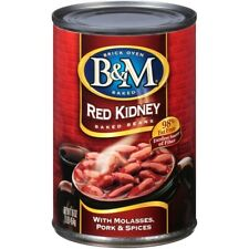 B&M Red Kidney Baked Beans (CASE OF 12) 16 Ounce Cans, # RED KIDNEY BEANS B&M