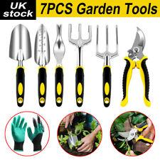 7PCS Garden Hand Tool Set Home Gardening Kit Trowel Digging Plant Weeding Tools