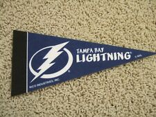 "Tampa Bay Lightning Nhl Hockey Team Mini 9"" Souvenir Felt Pennant Flag New"