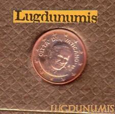 Vatican 2011 1 Centimes D'Euro FDC BU 94000 exemplaires Provenant du BU RARE - V