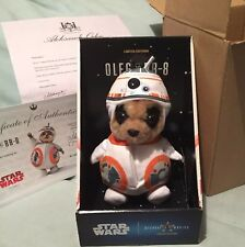 COMPARE THE MARKET OLEG AS BB-8 MEERKAT TOY Star Wars Disney LIMITED EDITION