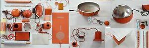 3D Printer Multiple Size 12V 24V 36V 110V 220V Silicon Heater Pads Custom Made