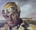 General Billy Mitchell WWI Portrait U.S.Air Force Art Collection By Peter Hurd
