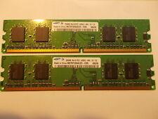 2 x 256MB Samsung M378T3354CZ3-CD5 DDR2 240pin, P/N 355949-888, #SU_82
