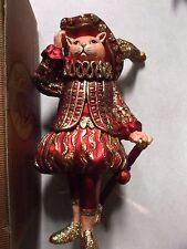 VINTAGE OLD WORLD CHRISTMAS RENAISSANCE CAT (ONE OF A KIND, VERY RARE)