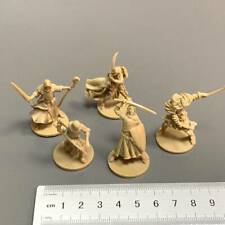 Lot 5 Golden Heroes Game Figure Fit For Dungeons & Dragon D&D Miniatures toys #S