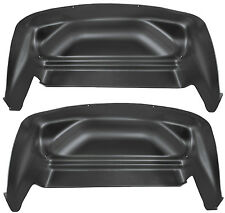 HUSKY 79001 Wheel Well Guards for Chevy Silverado 1500 2500 3500 Rear Fenders