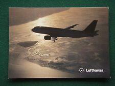 LUFTHANSA AIRBUS A320-200 POSTCARD