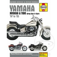 Yamaha XVS 650 AN Drag Star Classic 2006-2007 Haynes Service Repair Manual 4195