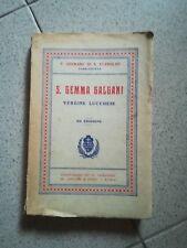 S. GEMMA GALGANI VERGINE LUCCHESE STANISLAO 1939