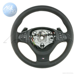 OEM BMW X5 E70 X6 E71 E72 M Sport HEATED Steering Wheel with Gear Shift Paddles