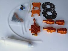 Front Hydraulic Brake System for HPI km rovan Baja 5B orange color