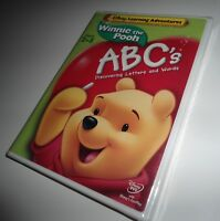 Winnie The Pooh ABC's Letters and Words Disney Learning Adventures (DVD NEW)