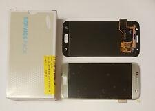 Samsung Galaxy S7 G930F Pantalla Táctil LCD Pantalla Completo Original Genuina de Plata