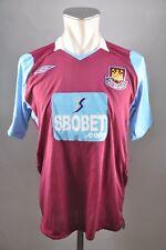 West Ham United Trikot Gr. M Jersey Umbro 2008-09 Home SBOBET Shirt England