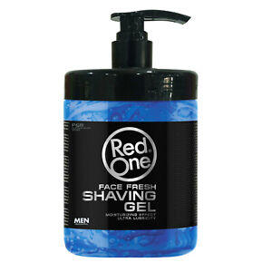RedOne Shaving Gel | Premium Lubrication | Face Fresh  | Active Men | 1000Ml