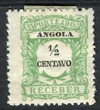 PORTUGUESE ANGOLA 1900s early Postage Due issue Mint unused 1/2r. value