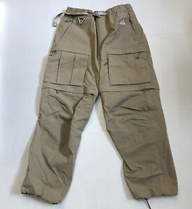 Nike ACG Smith Summit Cargo Pants Khaki Sustainable Materials CV0655 247 Medium