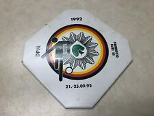 1992 German Soccer Ceramic Plaque -