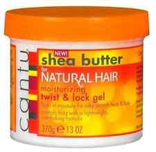 CANTU SHEA BUTTER FOR NATURAL HAIR MOISTURISING TWIST & LOCK GEL FRIZZ CONTROL