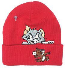Supreme 'Tom & Jerry' Red Beanie
