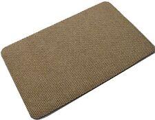 Beige Inside Mini Diamond Doormat Front Back Step Polypropylene 80cm x 50cm Mat