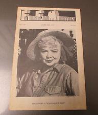 1972 FILM FAN MONTHLY #128 FN- Iris Adrian in Scandalous John
