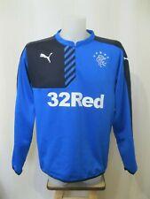 Glasgow Rangers 2014 Home Sz XL Puma football shirt jersey soccer sweater jacket