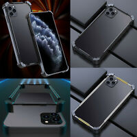 For IPhone 12 Mobile Phone Series Drop-Resistant Metal Frame Protective Cover