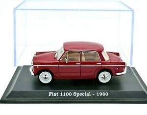 MODELLINO AUTO FIAT 1100 SPECIAL SCALA 1/43 DIECAST NOREV MODELLISMO EPOCA 1960